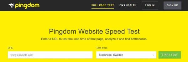 pingdom tools 600x198 - 8 mẹo cần làm thương xuyên để bảo trì WordPress website