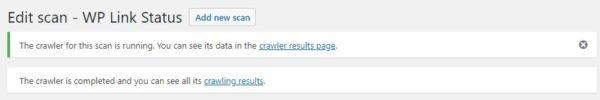 scan link hong crawler results 600x100 - 8 mẹo cần làm thương xuyên để bảo trì WordPress website