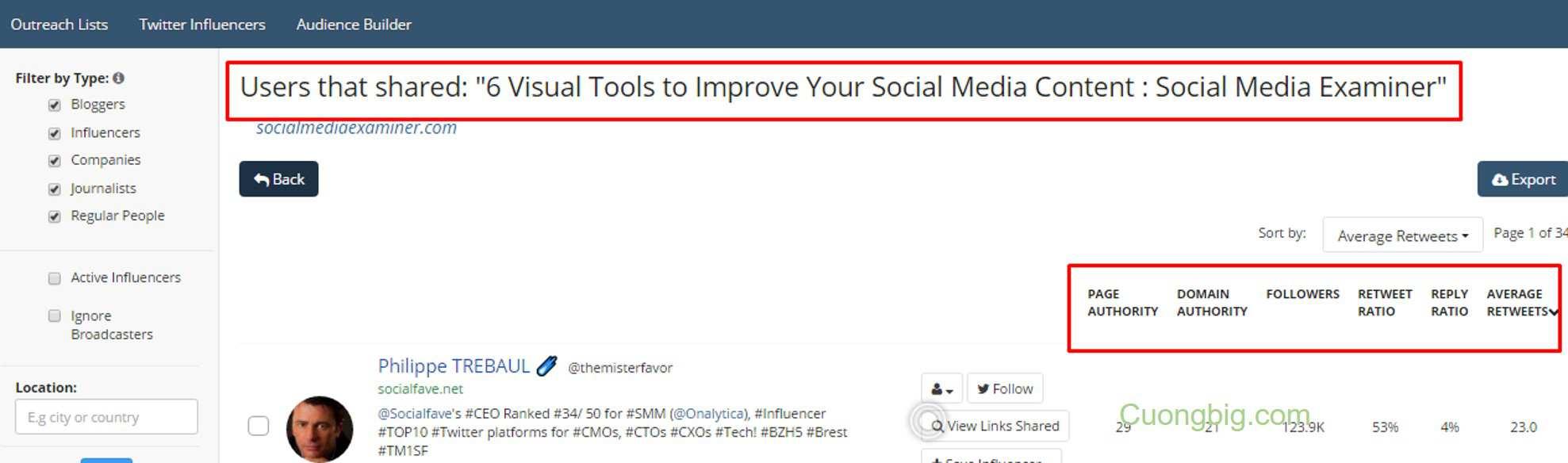 BuzzSumo là gì? Hướng truy cập và sử dụng Buzzsumo A-Z chi tiết nhất (Công cụ hỗ trợ content cho website) 12