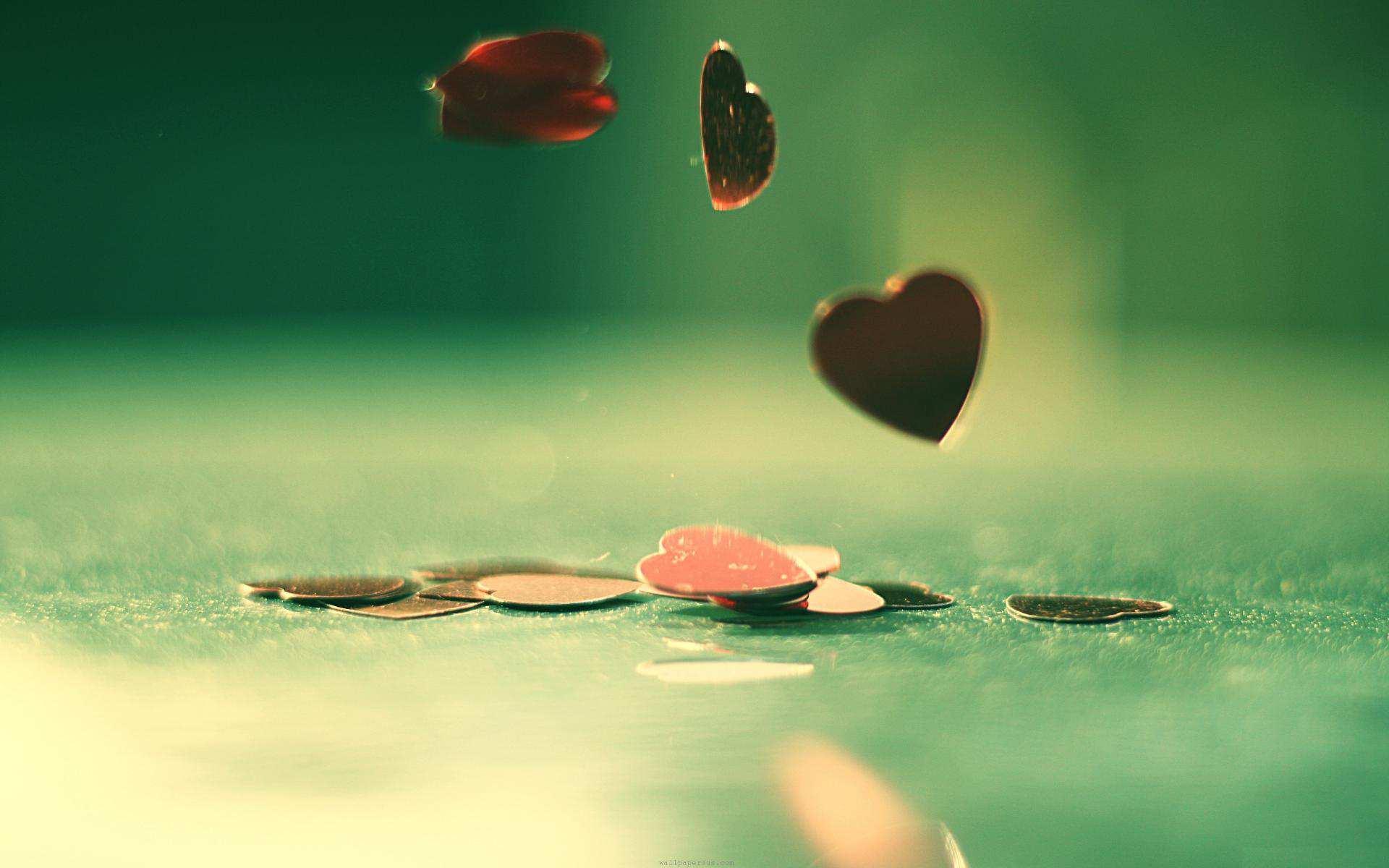 Hình nền máy tính HD trái tim tình yêu đẹp