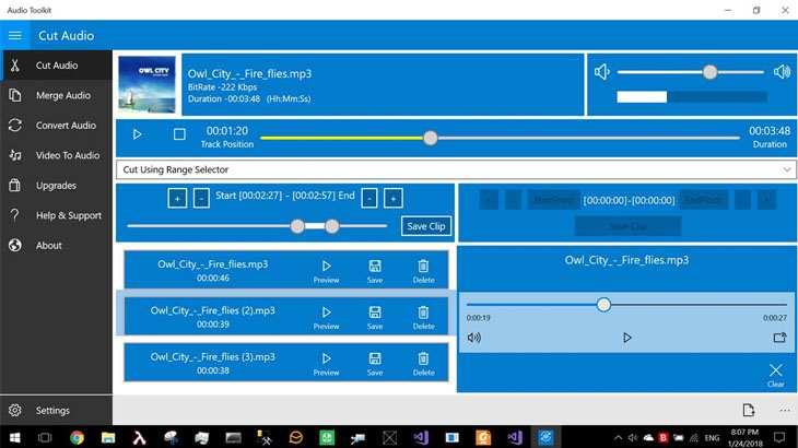 Phần mềm Audio Toolkit