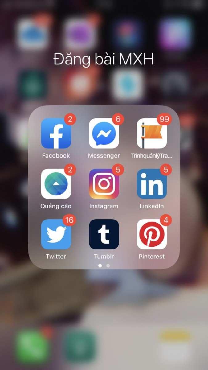 các phần mềm quản lý facebook trên điện thoại