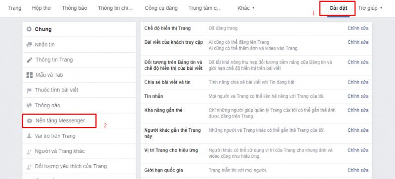 Hướng dẫn tích hợp chat facebook vào website với 3 bước đơn giản chuẩn SEO 5