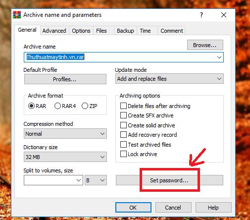Cách đặt mật khẩu cho File, Forther trong Windows 10 / 8 / 7 / Xp 4