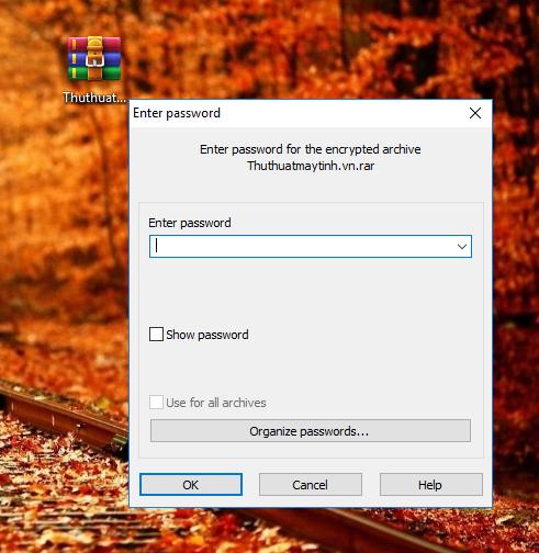 Cách đặt mật khẩu cho File, Forther trong Windows 10 / 8 / 7 / Xp 6