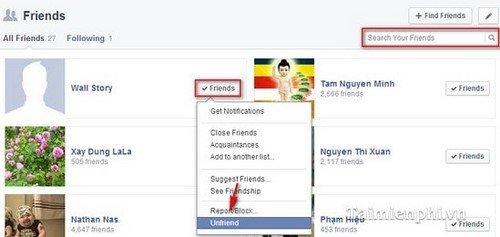Hướng dẫn sử dụng phần mềm hủy kết bạn facebook trên Máy tính và Điện thoại 1