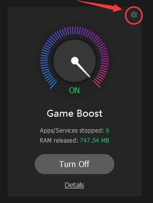 tối ưu cấu hình game boost