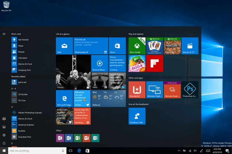 Kết quả hình ảnh cho windows 10