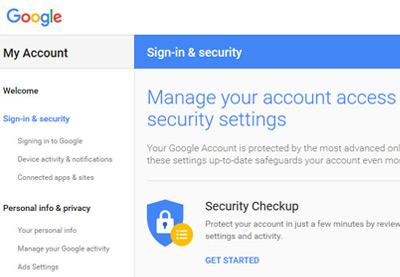 Hướng dẫn tạo tài khoản Gmail và khôi phục tài khoản gmail bị hack 1
