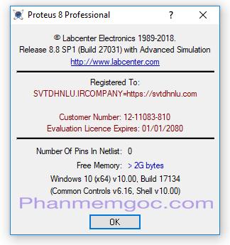 Download Proteus 8.8 Professional Full Crack & Key Đến Năm 2080 Link Google Drive - Hướng Dẫn Cài Đặt Chi Tiết 00-min