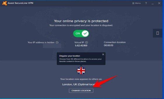 License Key Avast SecureLine VPN
