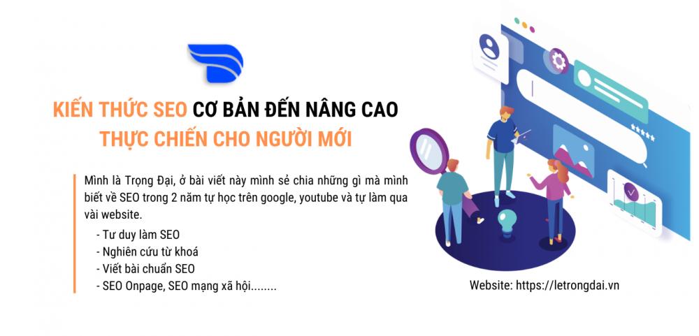 Cẩm Nang Seo Kiến Thức Seo Cơ Bản đến Nâng Cao Thực Chiến Cho Người Mới
