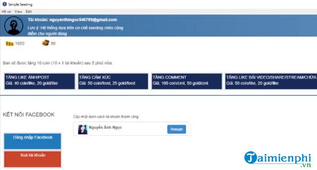 Phần mềm hỗ trợ bán hàng online trên Facebook