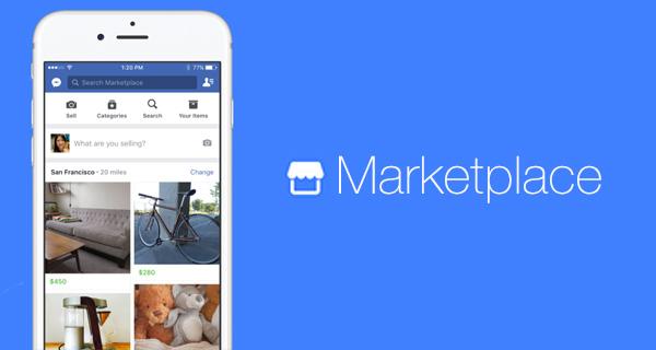 Facebook tung Marketplace: Thương mại điện tử toàn cầu giải bài ...