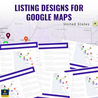 Thiết kế danh sách cho Google Maps