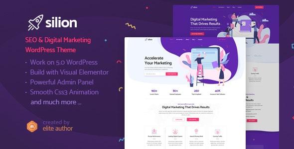 Tải Miễn phí Silion - Digital Marketing WordPress Theme 2020 1