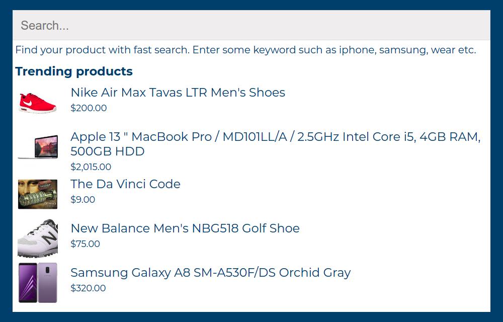 Công cụ tìm kiếm thương mại WooC - 18