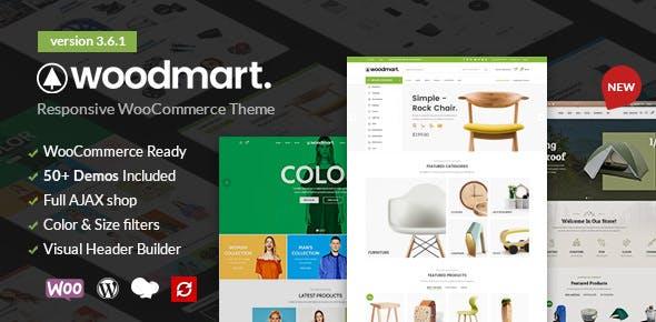 Woodmart theme bán hàng tuyệt đẹp