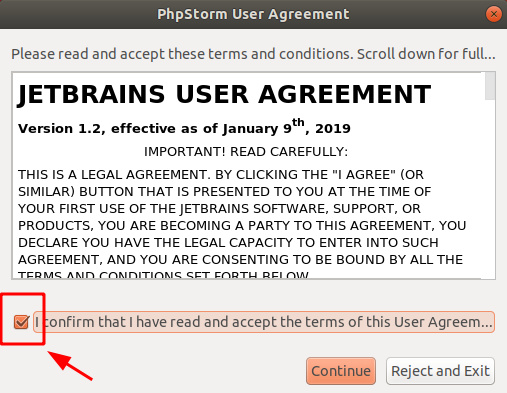 Huong dan cai dat PhpStorm IDE tren Ubuntu Step 2