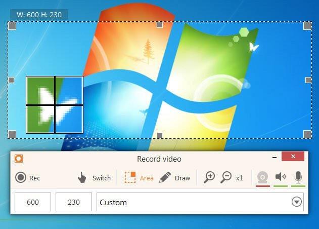 Phần mềm Icecream Screen Recorder