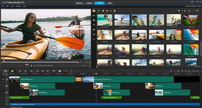 Coral VisualStudio x10 - Top 5 Trình chỉnh sửa video 360