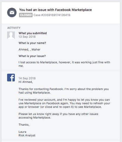 Thị trường Facebook đã trở lại