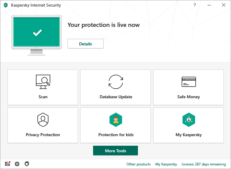 Cập nhật Kaspersky Internet Security mới nhất