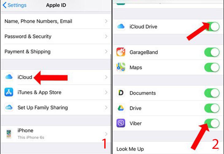 Sao lưu tin nhắn trên Viber iPhone