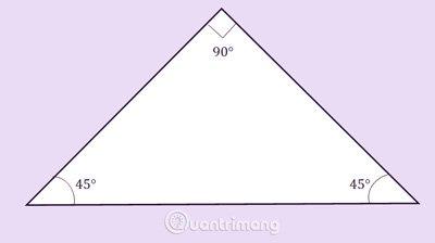 Tam giác vuông cân