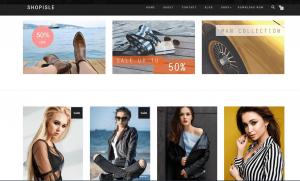 ShopIsle - theme bán hàng wordpress