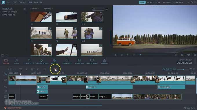 Top 5 phần mềm thay thế iMovie cho người dùng Windows 10 10