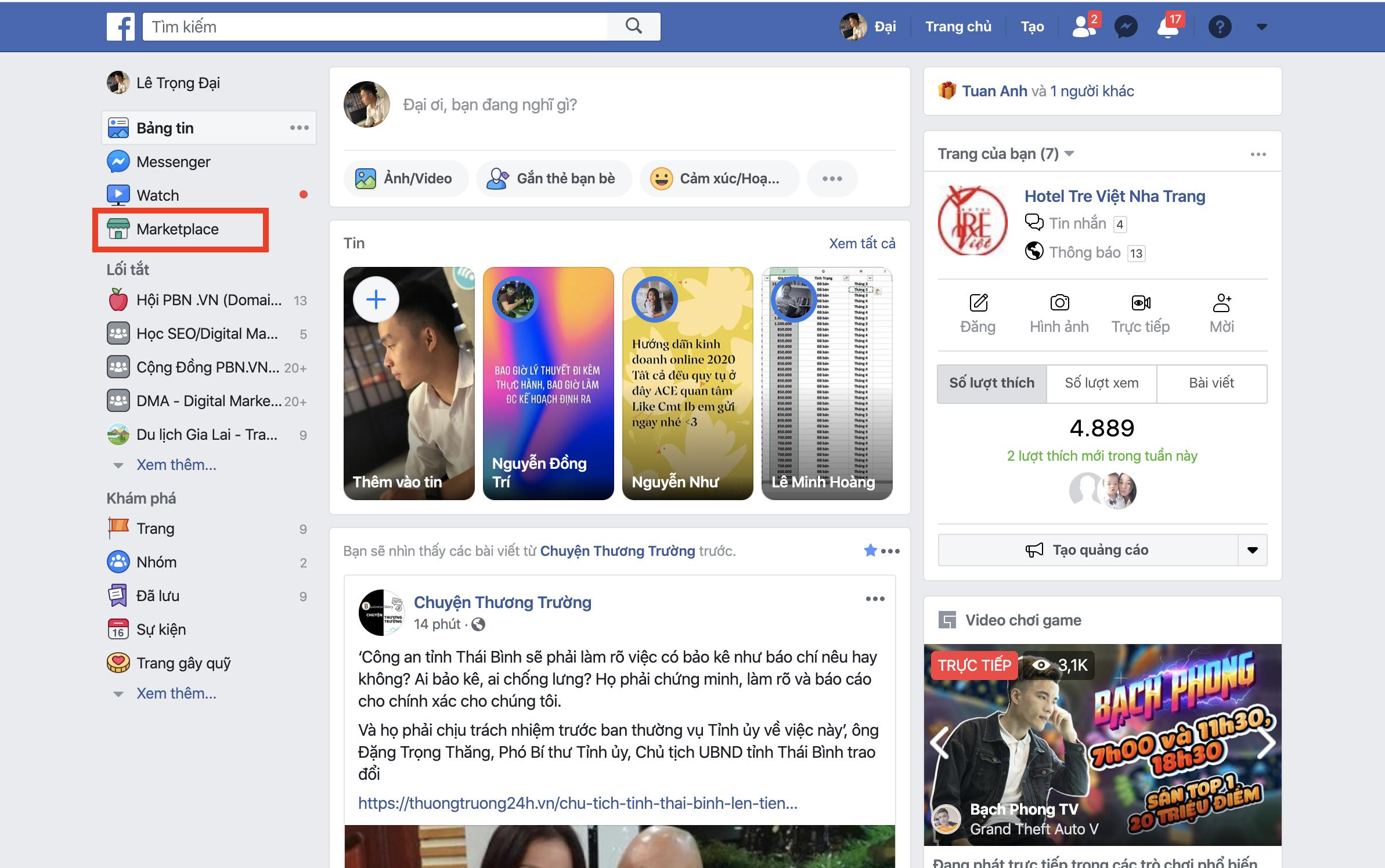 Hướng dẫn chi tiết cách đăng bài bán hàng ở Facebook Marketpalce trên điện thoại và máy tính 1