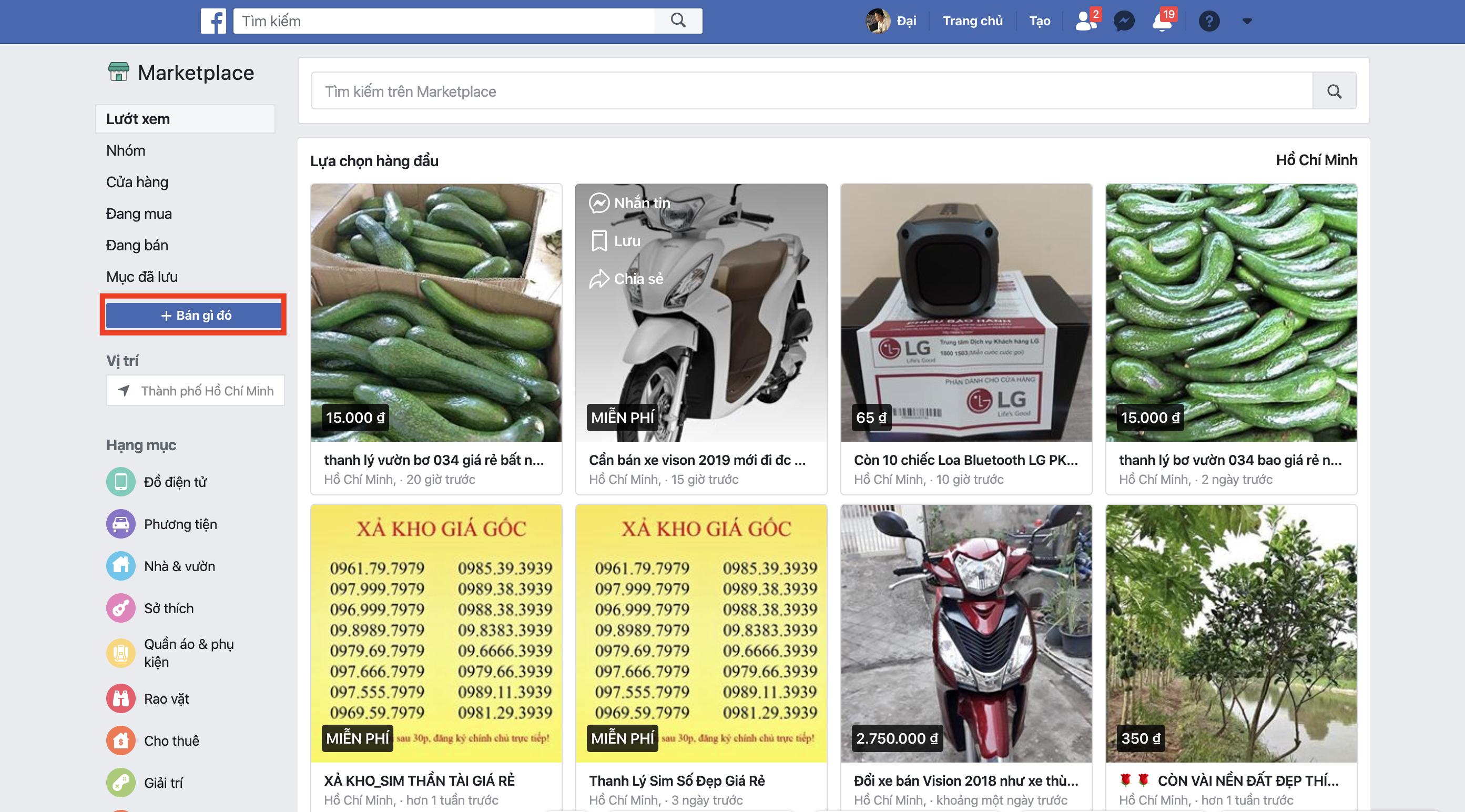 Hướng dẫn chi tiết cách đăng bài bán hàng ở Facebook Marketpalce trên điện thoại và máy tính 2