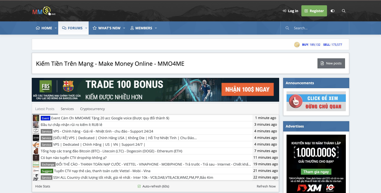 10+ Website cung cấp kiến thức về kiếm tiền Online (MMO) tốt nhất 2020 6