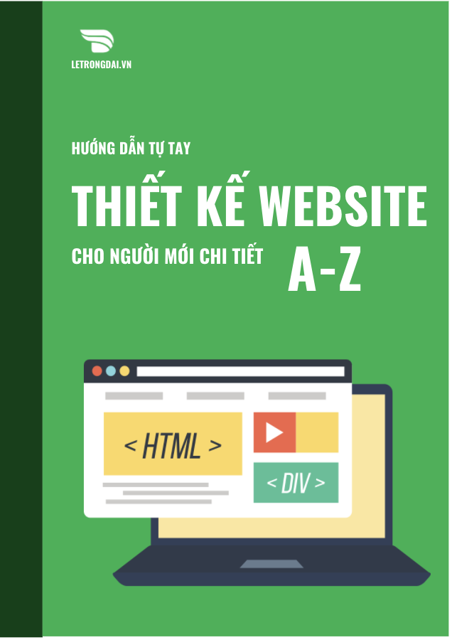Ebook thiết kế Website chi tiết A-Z 1