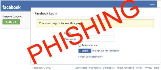 Facebook Phishing Page