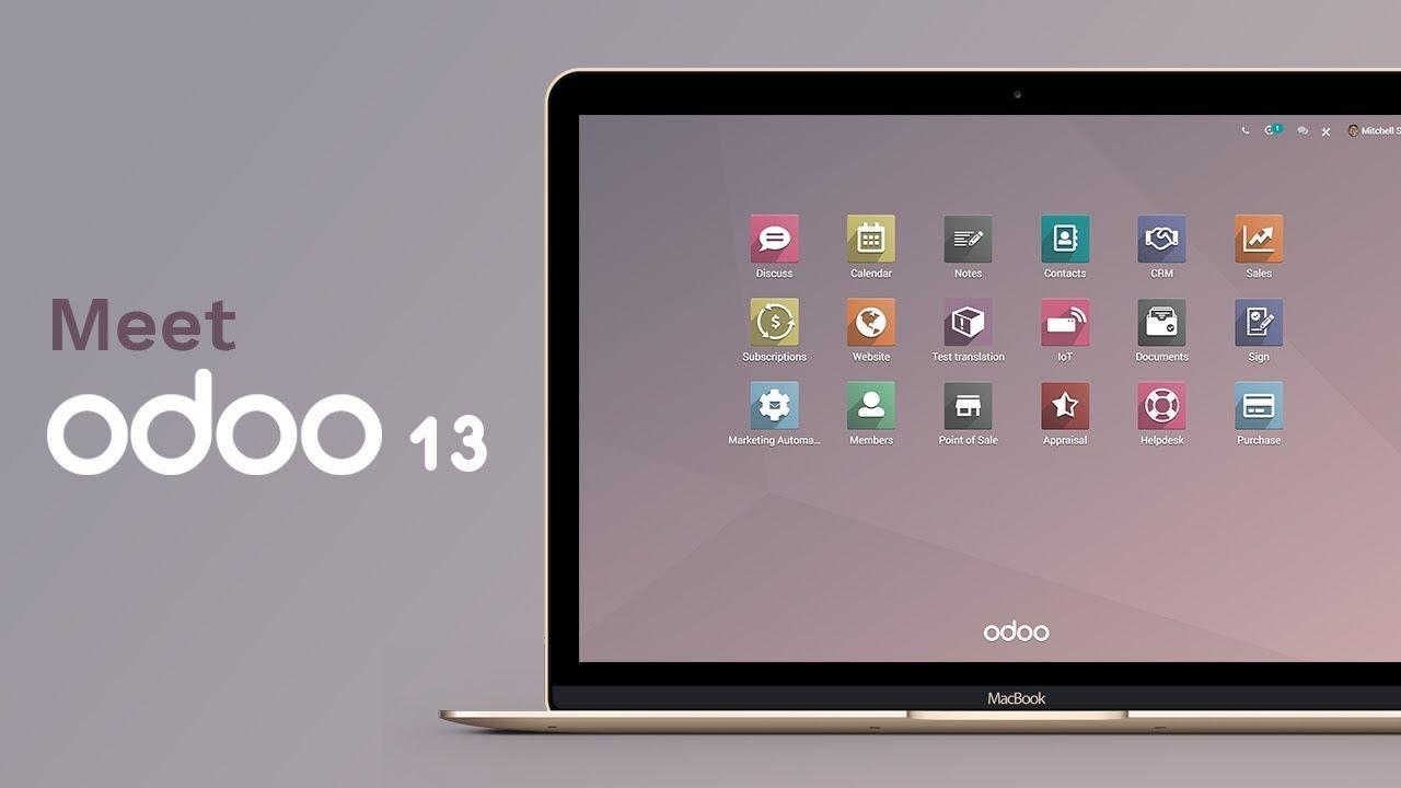Meet Odoo 13 - YouTube