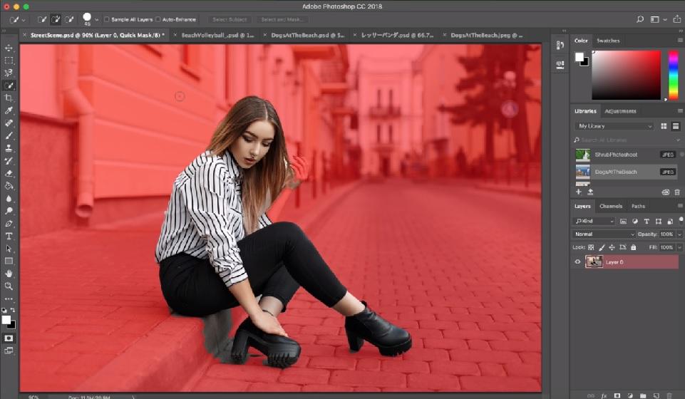 Adobe Photoshop cập nhật tính năng tách người khỏi phông cực nhanh ...
