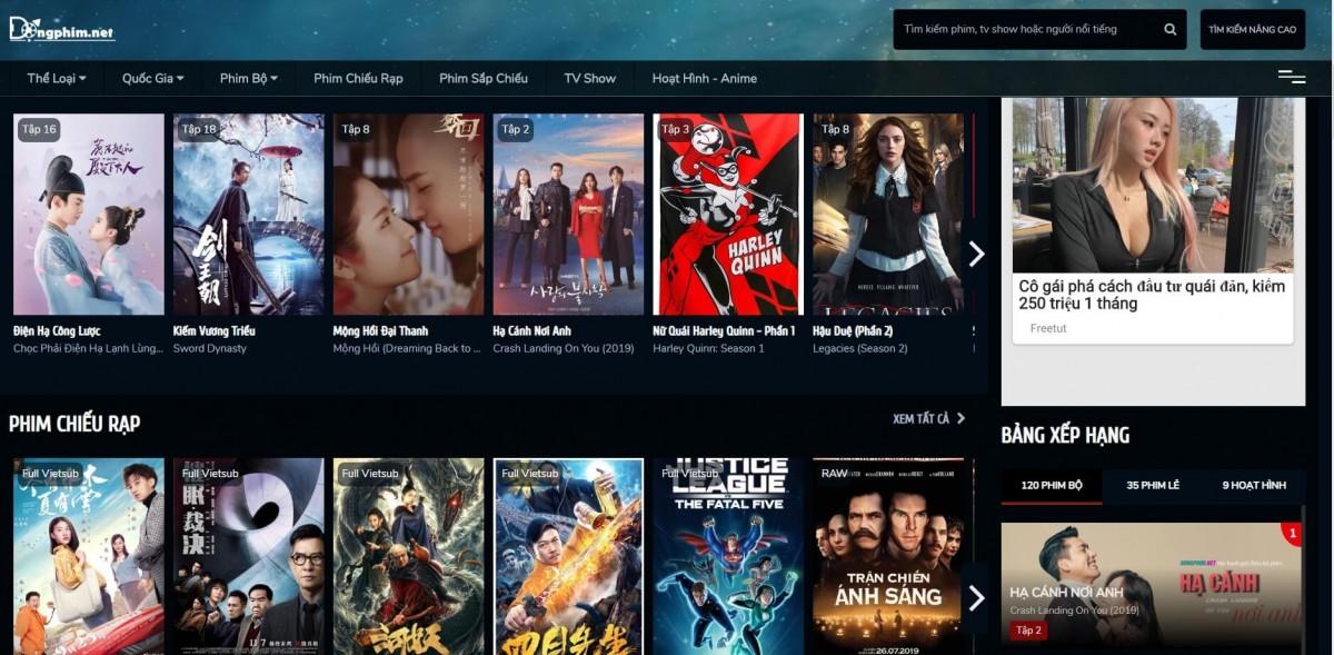 50 trang web xem phim trực tuyến Online  tốt nhất Việt Nam 2020 5
