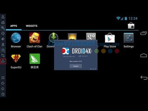 Trình giả lập Android trên PC nhe nhat
