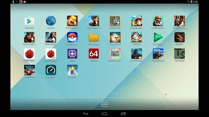 Tổng hợp bộ phần mềm giả lập Android trên PC nhẹ nhất 2020 2