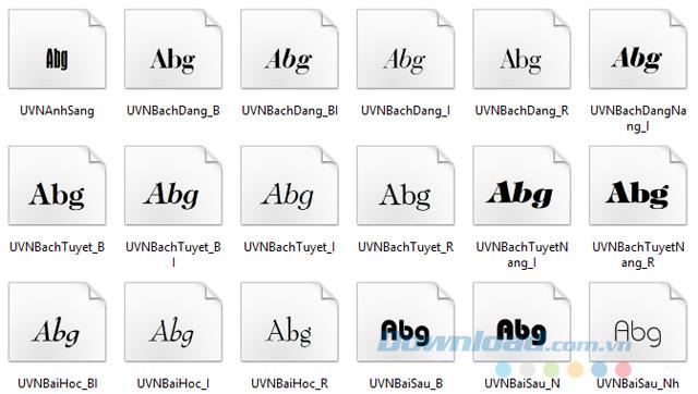 Font Unicode