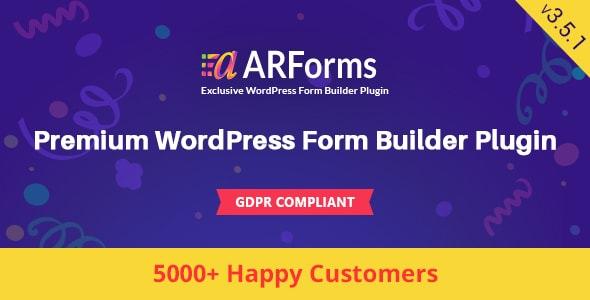 ARForms v3.5.1 - WordPress Form Builder Plugin