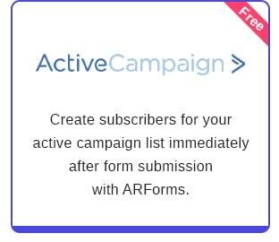 ARForms: Plugin Trình tạo biểu mẫu WordPress - 29