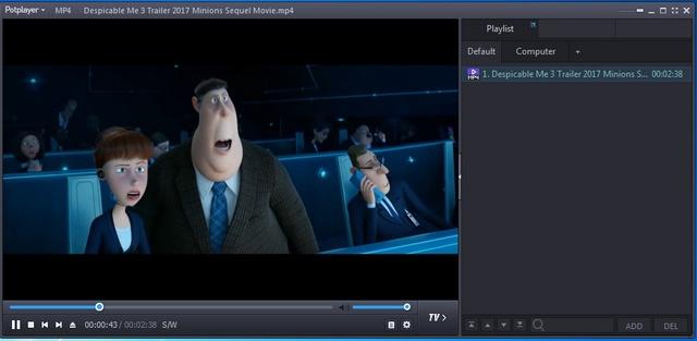 Phần mềm xem phim Potplayer