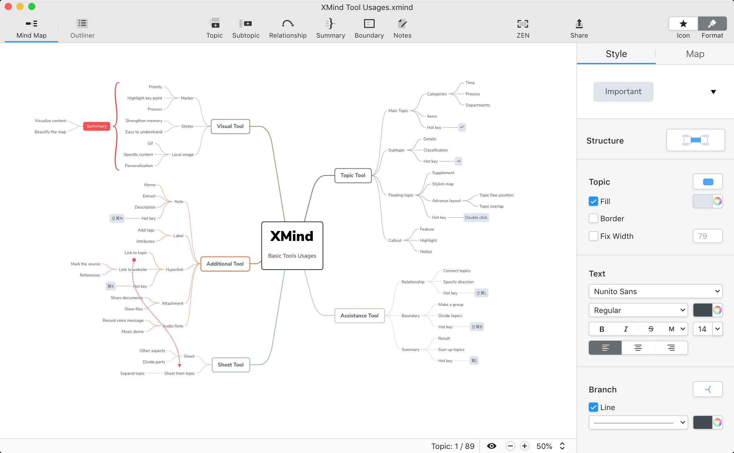Tổng hợp phần mềm vẽ Mindmap (Sơ đồ tư duy) tốt nhất 2020 6