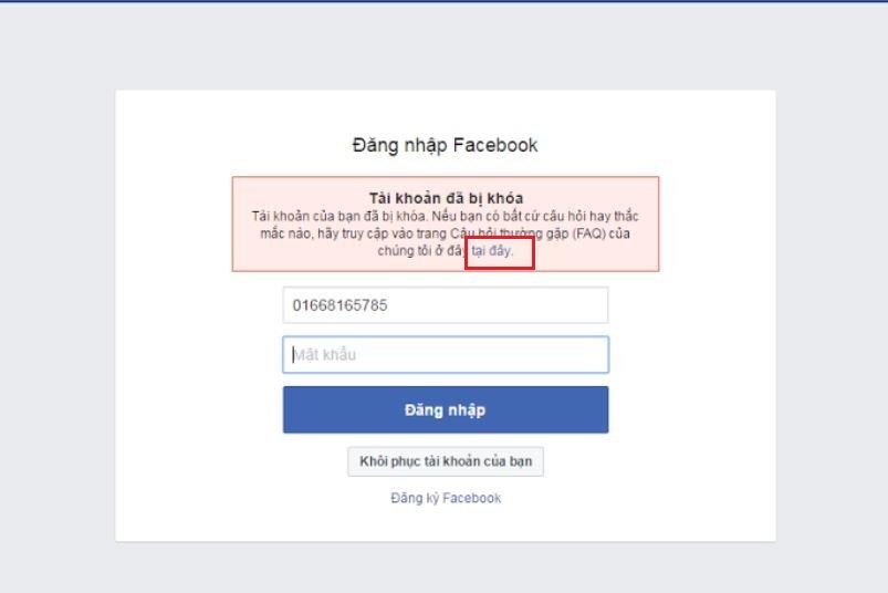 Cách khôi phục tài khoản facebook khi bị vô hiệu hoá, FAQ 2020 2