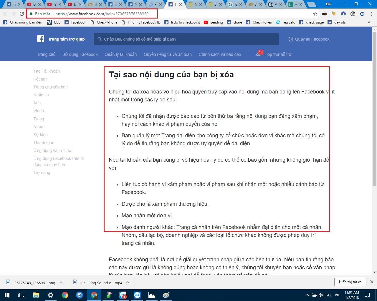 Cách khôi phục tài khoản facebook khi bị vô hiệu hoá, FAQ 2020 4