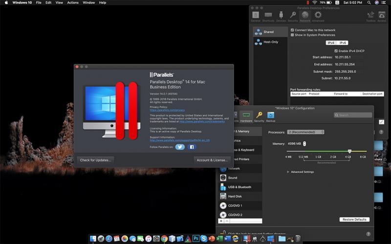 Key Parallels Desktop 15.1.3.47255 mới nhất 2020 và hướng dẫn cài đặt 1