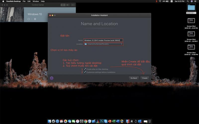Key Parallels Desktop 15.1.3.47255 mới nhất 2020 và hướng dẫn cài đặt 5